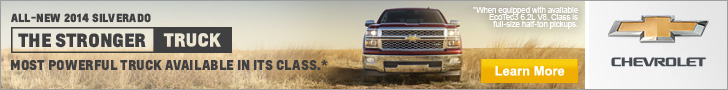 Chevy Silverado - Most powerful truck available in its class