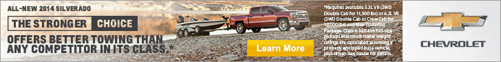 Chevy Silverado - better towing than any competitor in its class